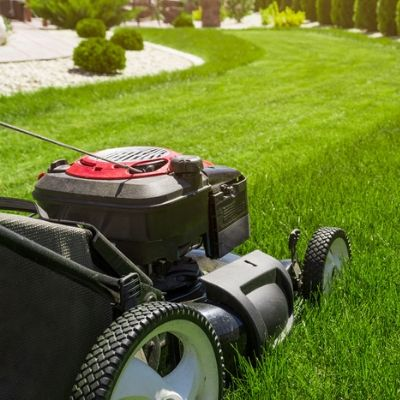 Making sure you are mowing your lawn at the right height once a week is important to your summer lawn care here in Londonderry, NH.